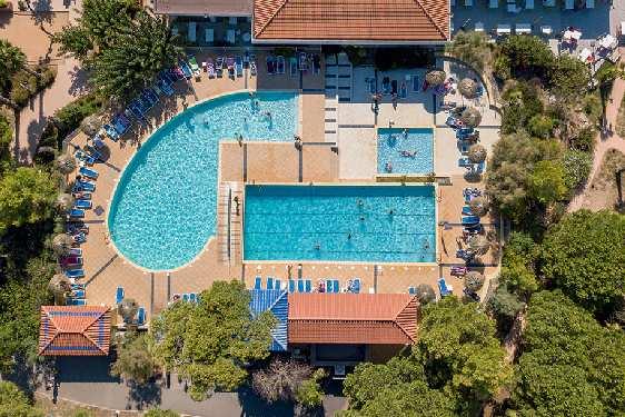Belambra Club Sélection Riviera Beach Club : Vue générale