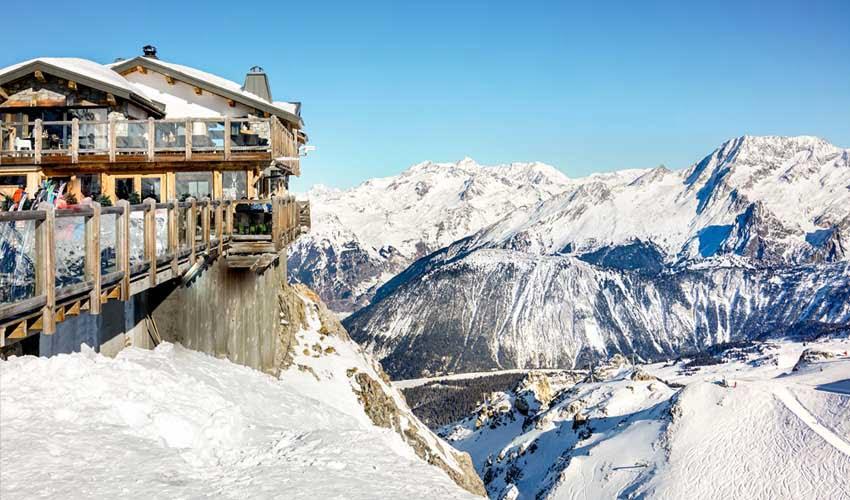Patrimoine près d'une station de ski d'un club Belambra