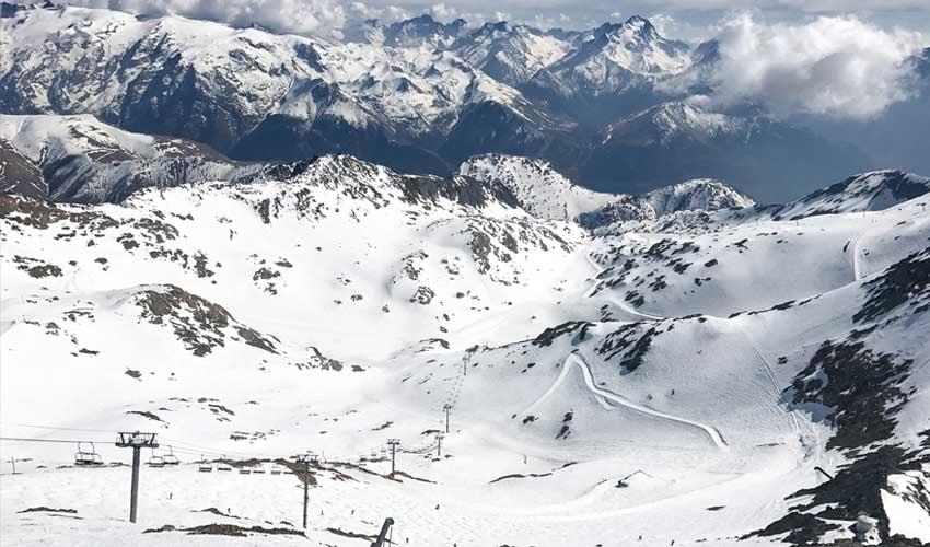 Club Belambra à la montagne : piste Sarenne