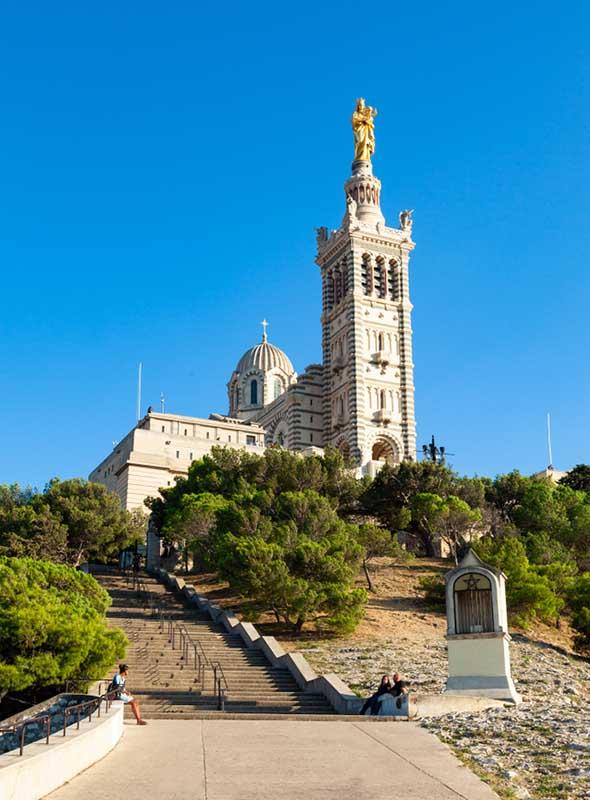 Basilique Notre Dame de la Garde à Marseille
