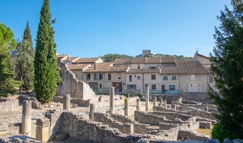 Le site archéologique de Vaison-la-Romaine