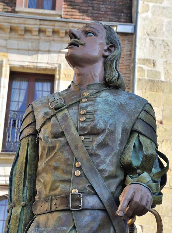 Statue de Cyrano de Bergerac