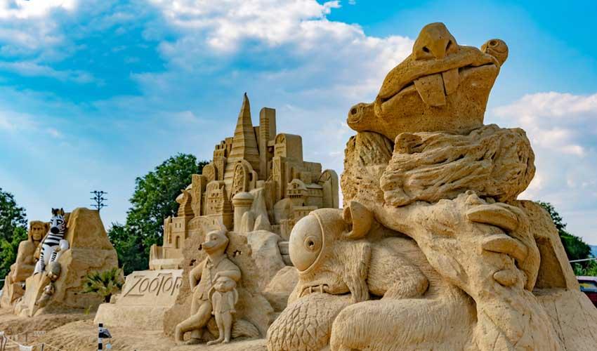 bulgarie top a faire chateau de sable bourgas