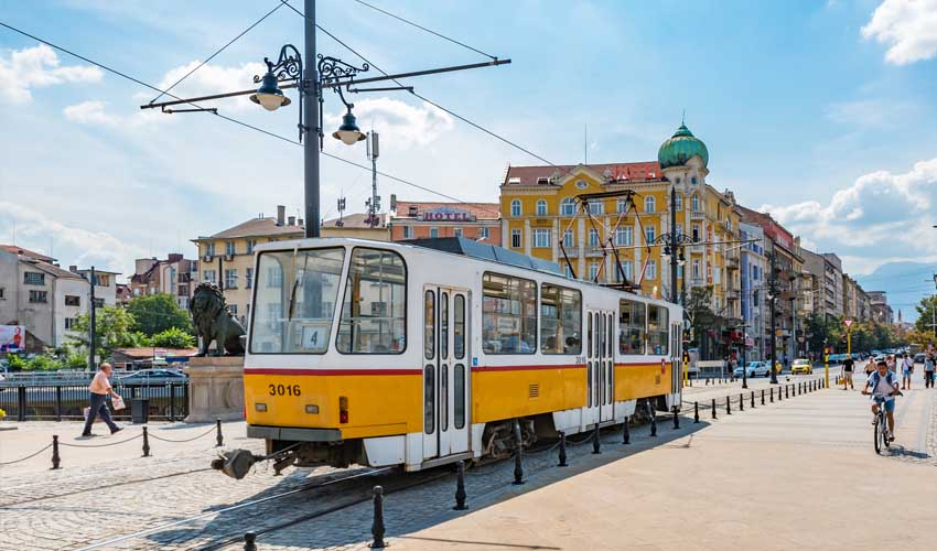 bulgarie top a faire visiter sofia image tram