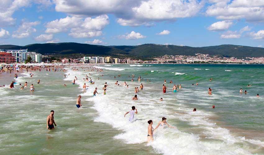 bulgarie top a ne pas manquer Sunny beach vague plage