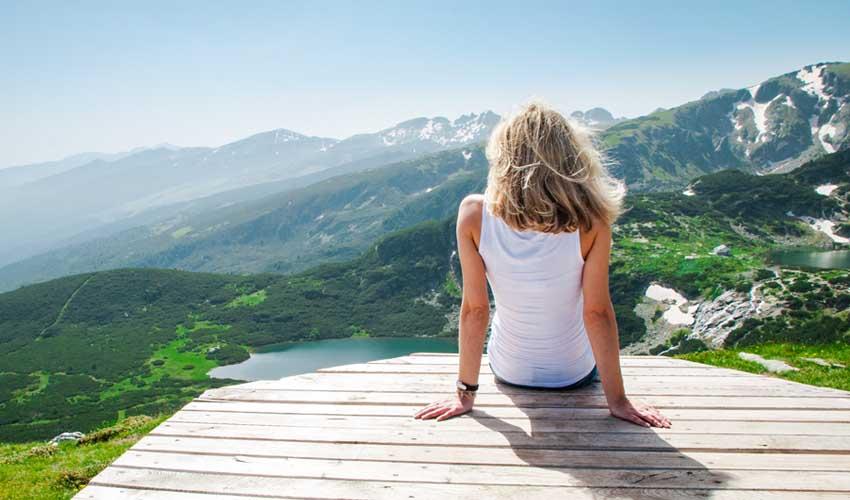 BULGARIE top pas cher activités gratuite randonnee femme 7 lacs