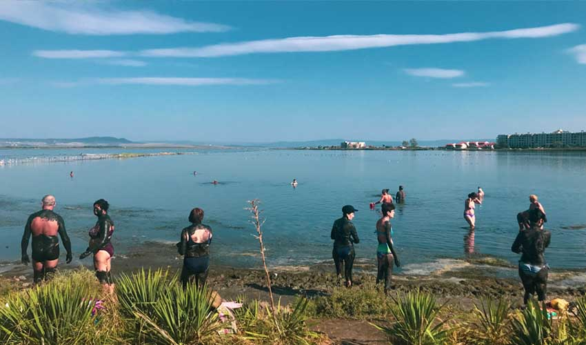 Bulgarie top a ne pas manquer Lac de bourgas bain de boue