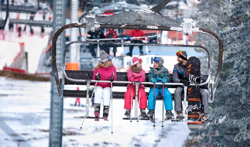 Club enfant MMV : ado et ski