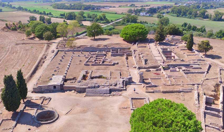 Site archéologique d'Aléria en Corse