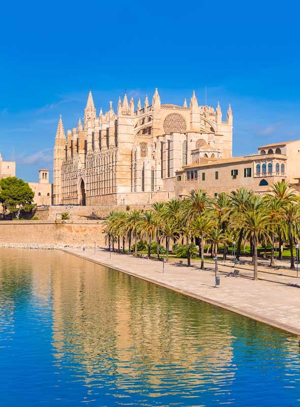Cathédrale, Palma, Majorque, Espagne