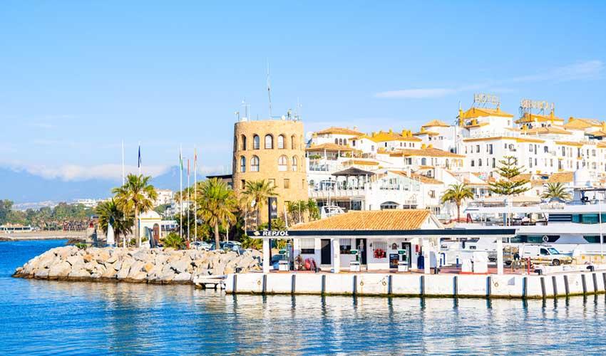 Port, Marbella, Espagne