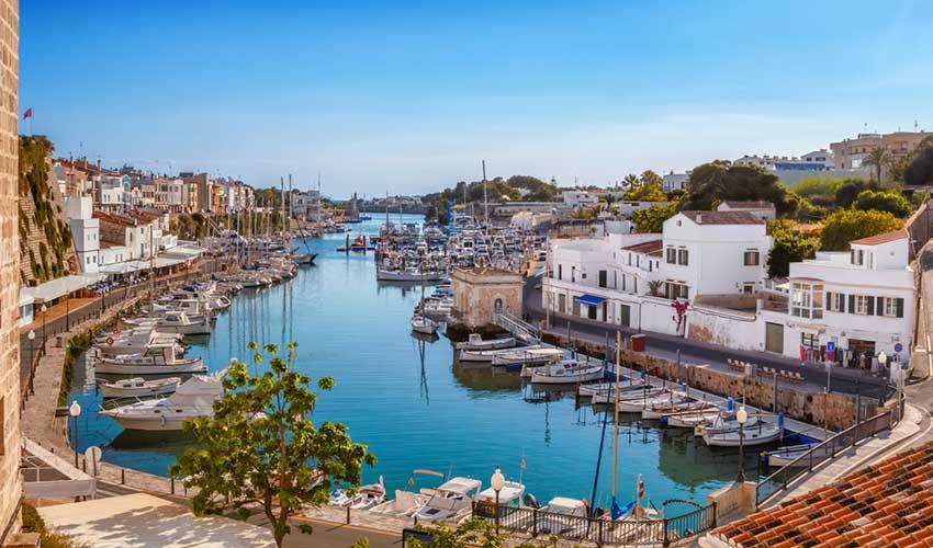 Port, Ciutadella, Minorque, Espagne