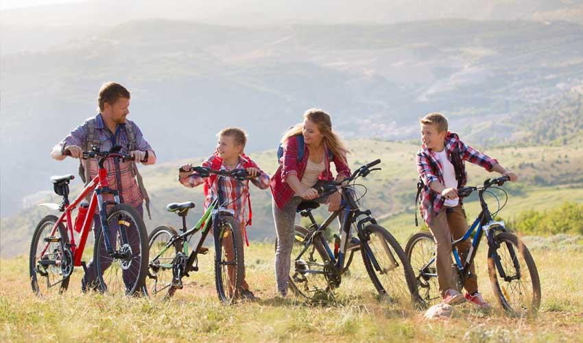 Activité en vélo depuis une résidence club MMV