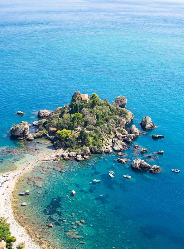 Isla Bella, Taormine, Sicile