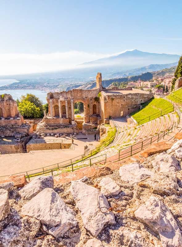 Théâtre grec, Taormine