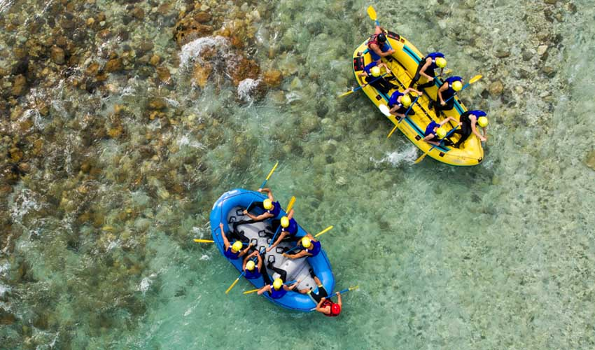 vacances sportives MMV été rafting