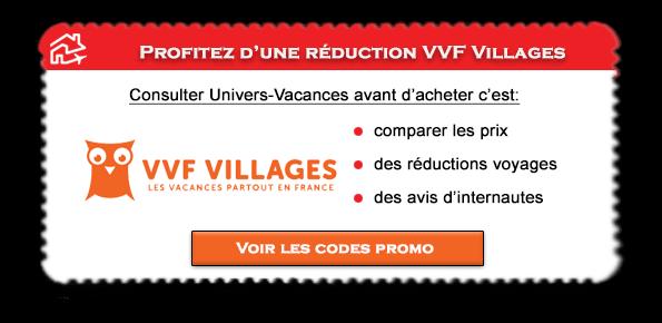 Code promo VVF valable sur les villages VVF
