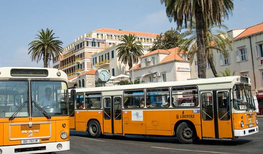 CROATIE TOP PAS CHER Prendre le bus old bus dubrovnik
