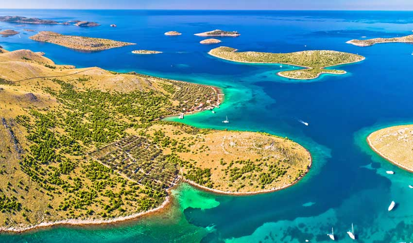 CROATIE TOP PAS MANQUER archipel kornati
