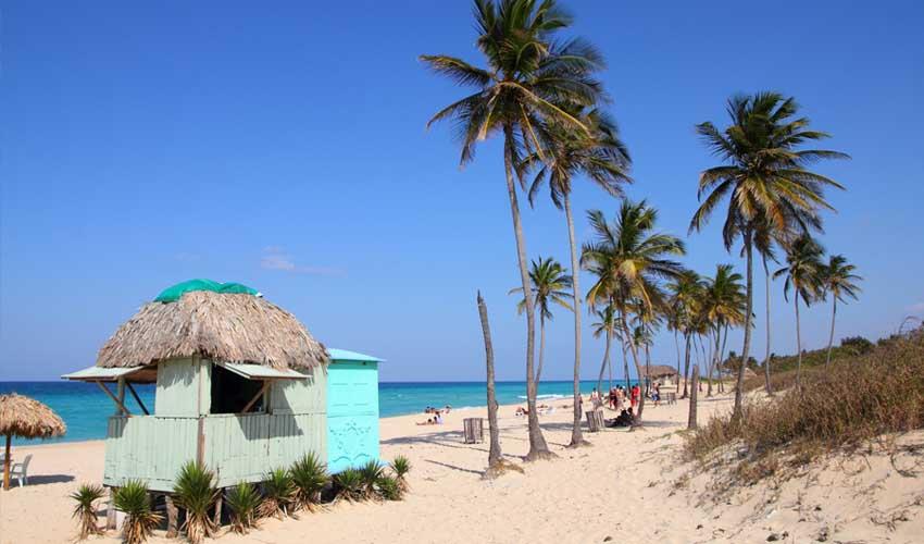 cuba plage playas del este