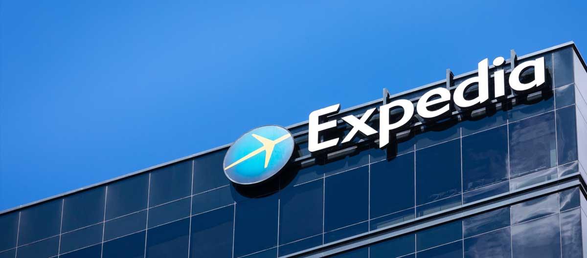 expedia agence vols et hotels siege du groupe aux usa batiment avec logo