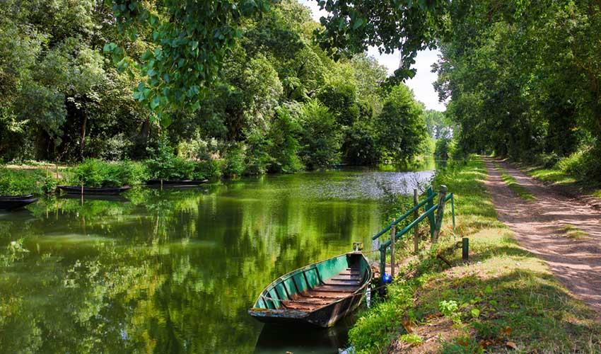 Le marais Poitevin, France