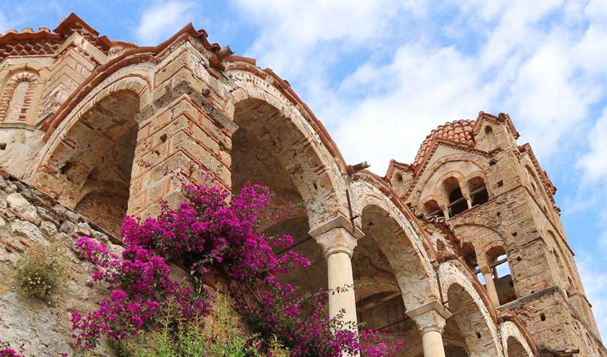 GRECE TOP A FAIRE Mystras ville medievale