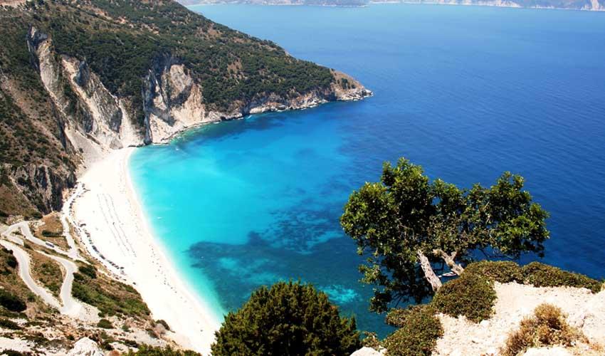 Grece top pas cher plage de myrtos se baigner crete