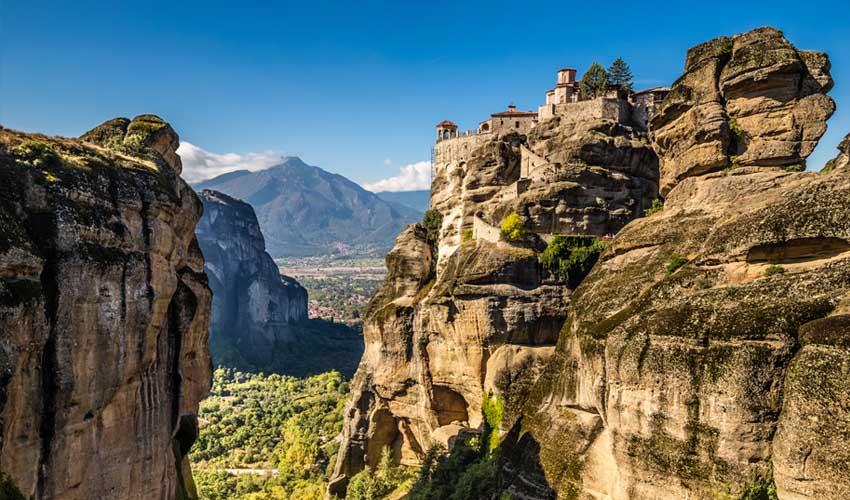 grece top a ne pas manquer meteores monastere roches
