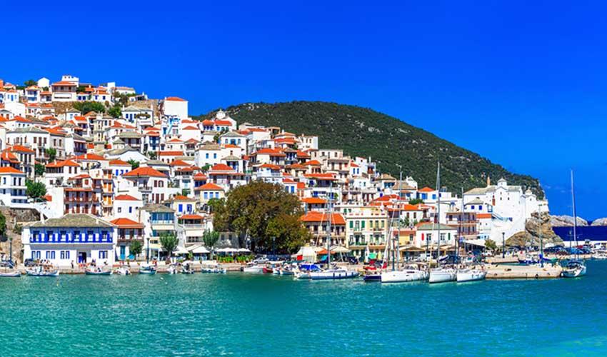grece pas manquer sporades iles skopelos mer et ville