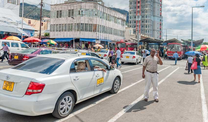 ile maurice pas cher taxi port louis centre ville