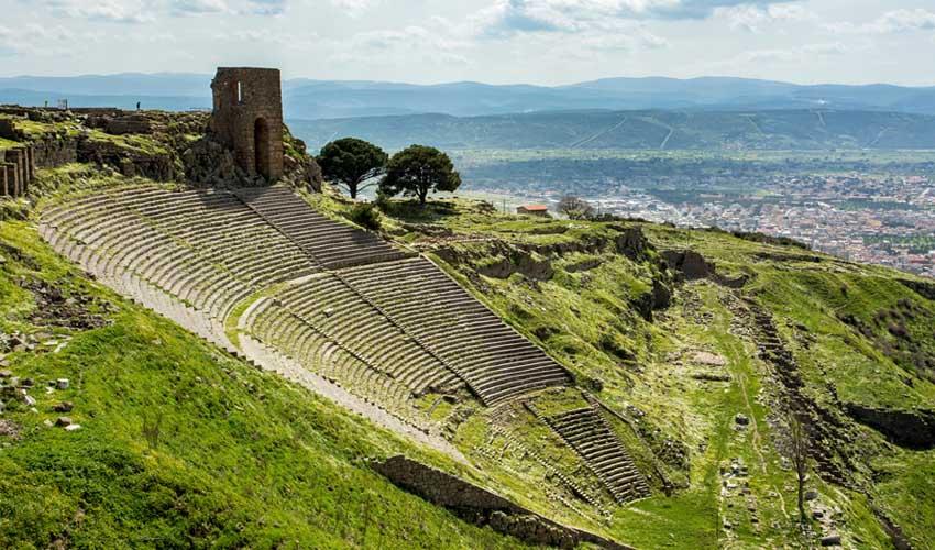 turquie a faire pergame site archeologique antique