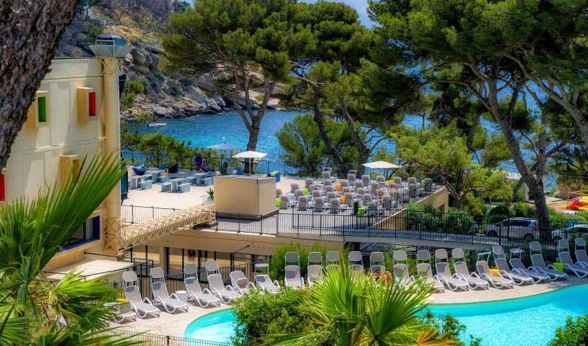 Miléade Les avis club carry le rouet vue sur piscine et mer