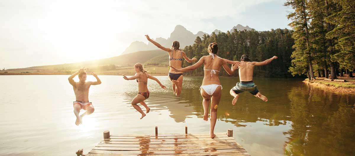 Miléade Les avis image principale amis saut lac