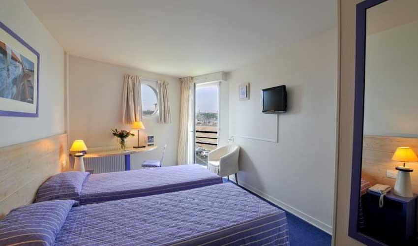 miléade hebergement hotel club binic