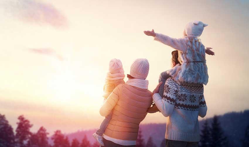 Vacances d'hiver en famille avec VVF grâce aux promotions 1re minute