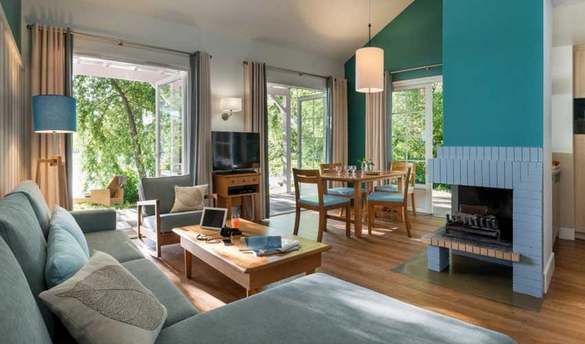 center parcs logement le lac d'airette france offre premium salon