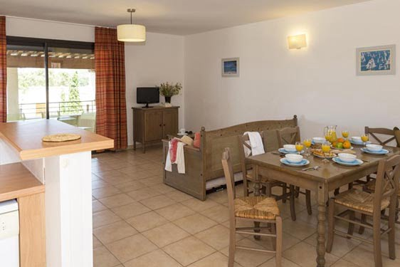 Résidence club Odalys Hameaux de Capra Scorsa : Chambres