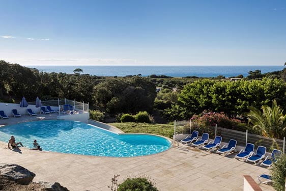 Résidence club Odalys Hameaux de Capra Scorsa : Piscine