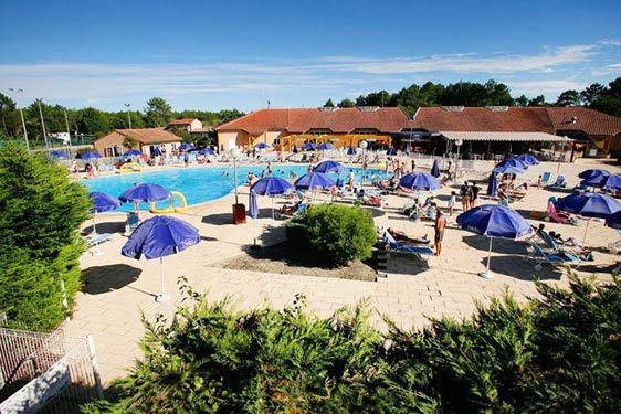 Résidence club Odalys Villas du Lac Soustons : Vue générale