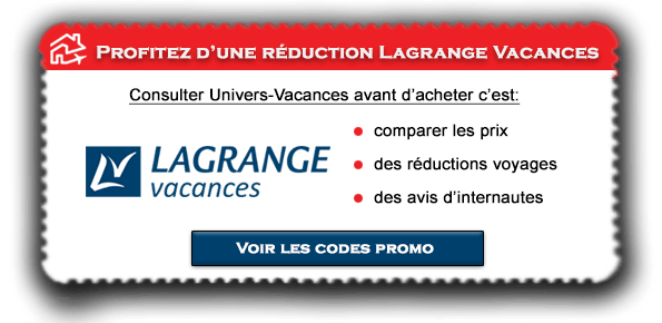 Code promo Lagrange Vacances
