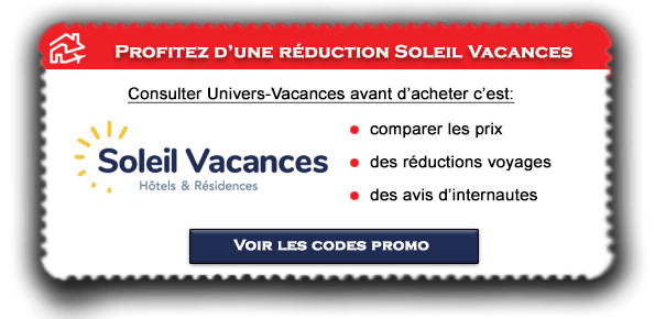 Code promo Soleil Vacances