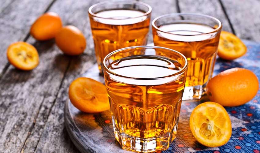 Liqueur de kumquat, Corfou, Grèce