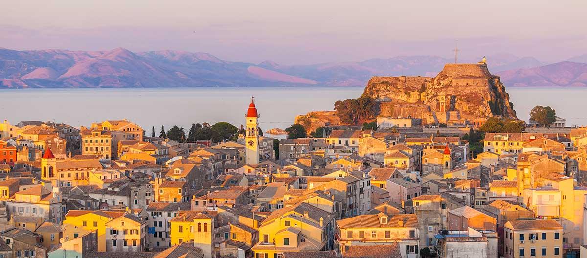 Corfou ville, île de Corfou, Grèce