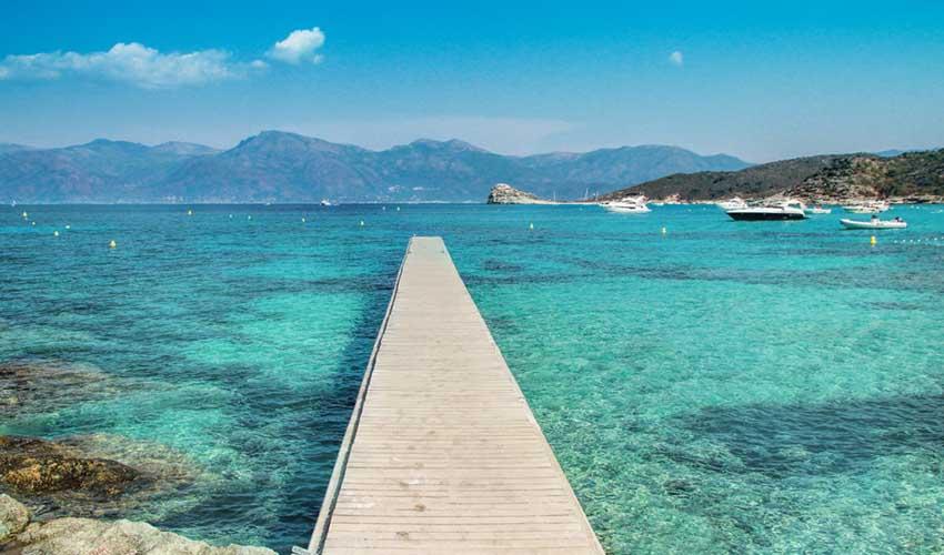 Plage du Loto en Corse