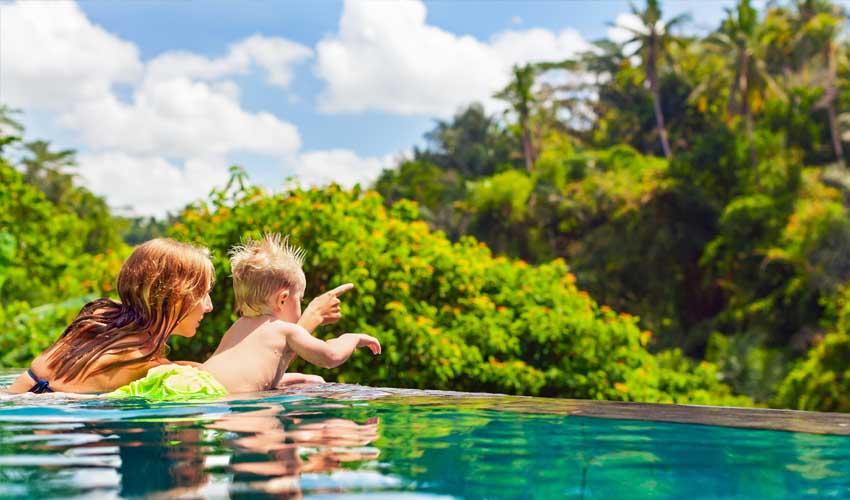 indonesie pas cher sejour all inclusive maman et bebe piscine