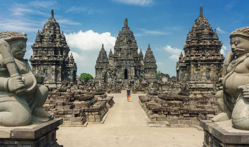 indonesie pas manquer visiteur des temples Borobudur et Prambanan