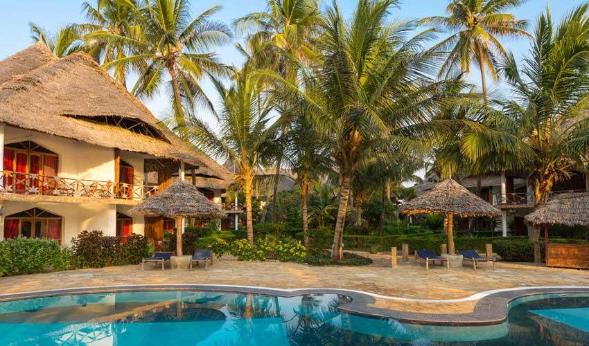 kappa club hotel 4 etoiles piscine et logement zanzibar