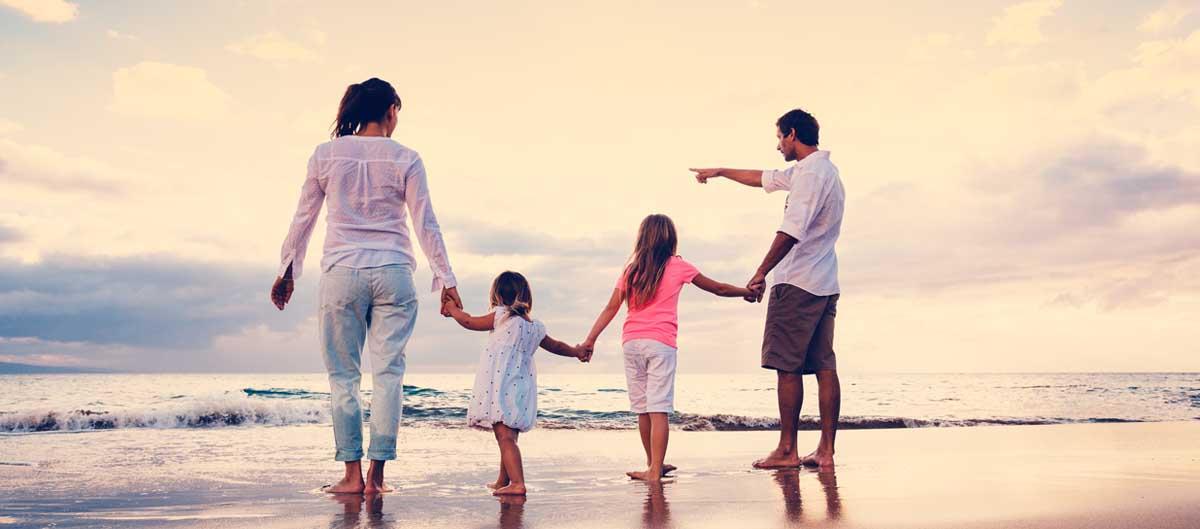 nemea residence image principale famille sur la plage