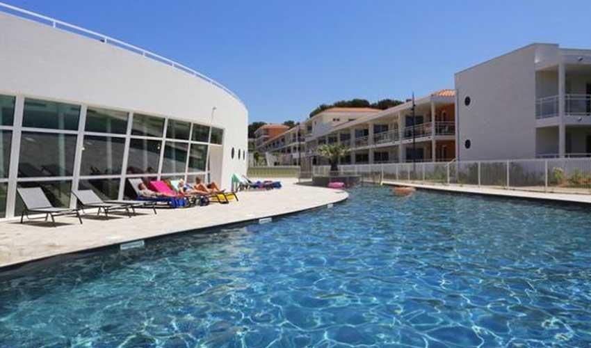 nemea residence saint mandrier sur mer cote azur piscine